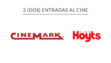 2 Entradas Cine -